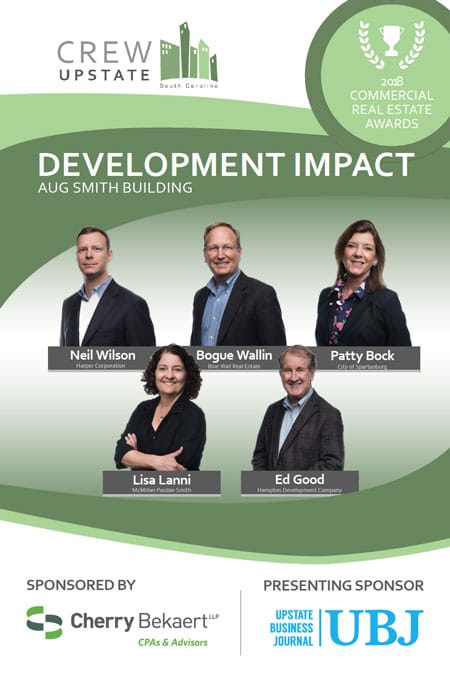 CREW Upstate Development Impact Award 2018